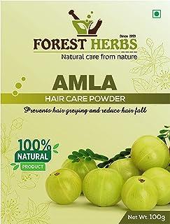 Forest Herbs 100% Natural Organic Amla Powder For Hair Growth - 100 Grams