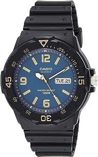 Casio MRW-200H-2B3VDF For Men-Analog, Sport Watch, Resin