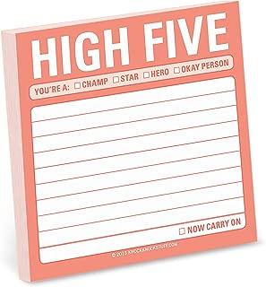 Knock Knock 12447  High Five Sticky Note Pad