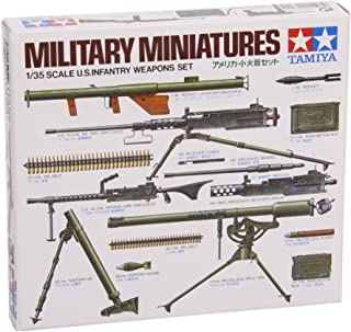 Tamiya Military Minatures U.s Infantry Weapons Set - 1:35 Scale Military