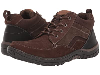 Nunn Bush Quest Moc Toe Chukka (Brown) Men