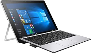 HP Elite X2 1012 G2 2-IN-1 Business Laptop - 12.3 inches Gorilla Glass TouchScreen (2736x1824), Intel Core i5-7300U, 256GB SSD, 8GB RAM, HP Keyboard + Pen, Windows 10 Pro - 3Yr Wnty (Renewed)