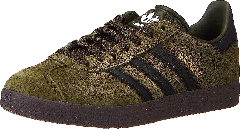 Amazon.com   adidas Men's Gazelle Sneaker, Night Cargo Core Black ...