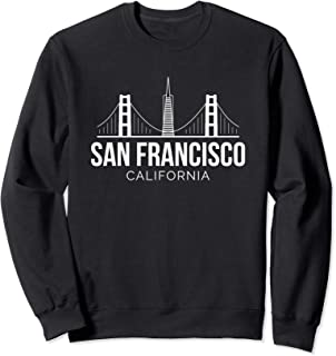 San Francisco SF Bay Area California Skyline Sweatshirt