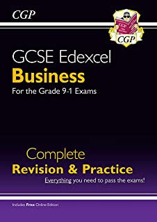 GCSE Business Edexcel Complete Revision and Practice - Grade 9-1 Course (with Online Edition)