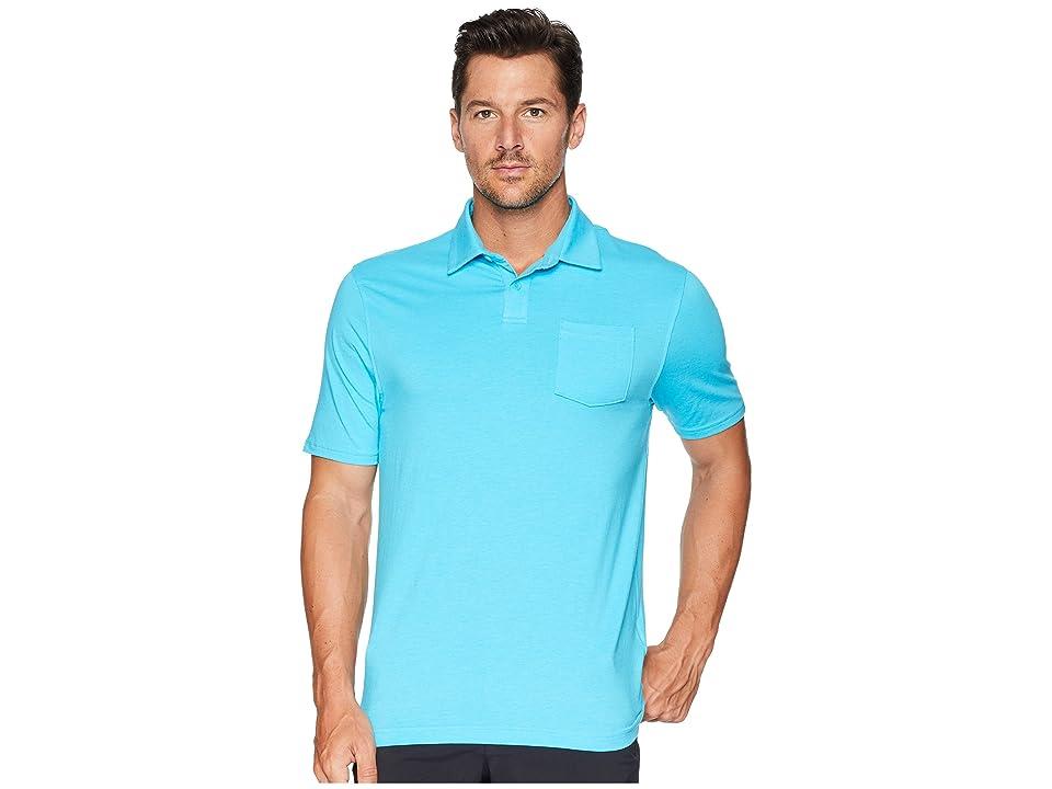 Under Armour Golf New Charged Cotton(r) Scramble Polo (Alpine/Alpine) Men