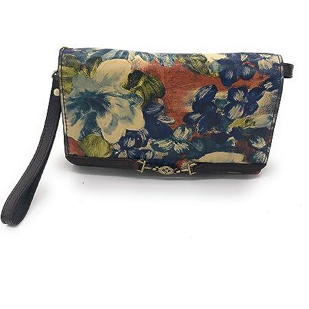 Patricia Nash Apricale Crossbody Shoulder Bag (Blu Coral)