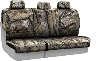 Coverking Rear 60/40 Bench Custom Fit Seat Cover for Select Toyota Tacoma Models - Neosupreme (Realtree AP Camo Solid)