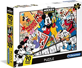 Clementoni Disney Mickey Mouse 90th 500 Piece Jigsaw Puzzle