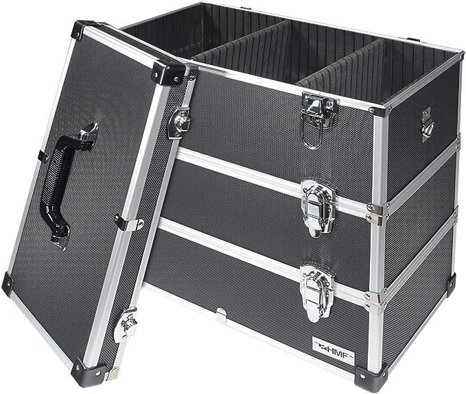 265 opinioni per HMF 14660900- Cassetta degli attrezzi vuota in alluminio, divisori individuali,