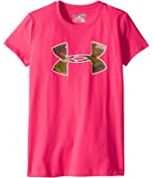 Under Armour Kids - UA Camo Fill Big Logo Hunting Short Sleeve Tee (Big Kids)