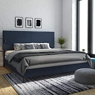 Best blue leather bed frame Reviews
