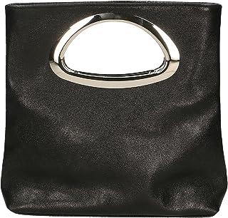 Aren - Handbag Borsa a Mano da Donna in Vera Pelle Made in Italy - 26x25x8 Cm