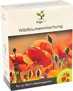 mgc24 Wildblumenmischung - Blumenmischung für nützliche Insekten ein- & mehrjährig 100g für 100m²