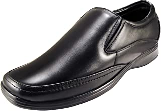 ACTION Synergy Men's Comfort Genuine Leather Formal Shoes G1221 Black