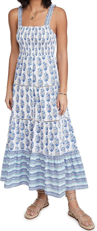 Playa Lucila Women's Smock Border Dress