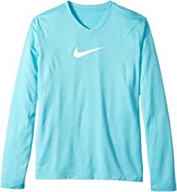 Nike Kids - Dry Legend Long Sleeve Training Top (Little Kids/Big Kids)