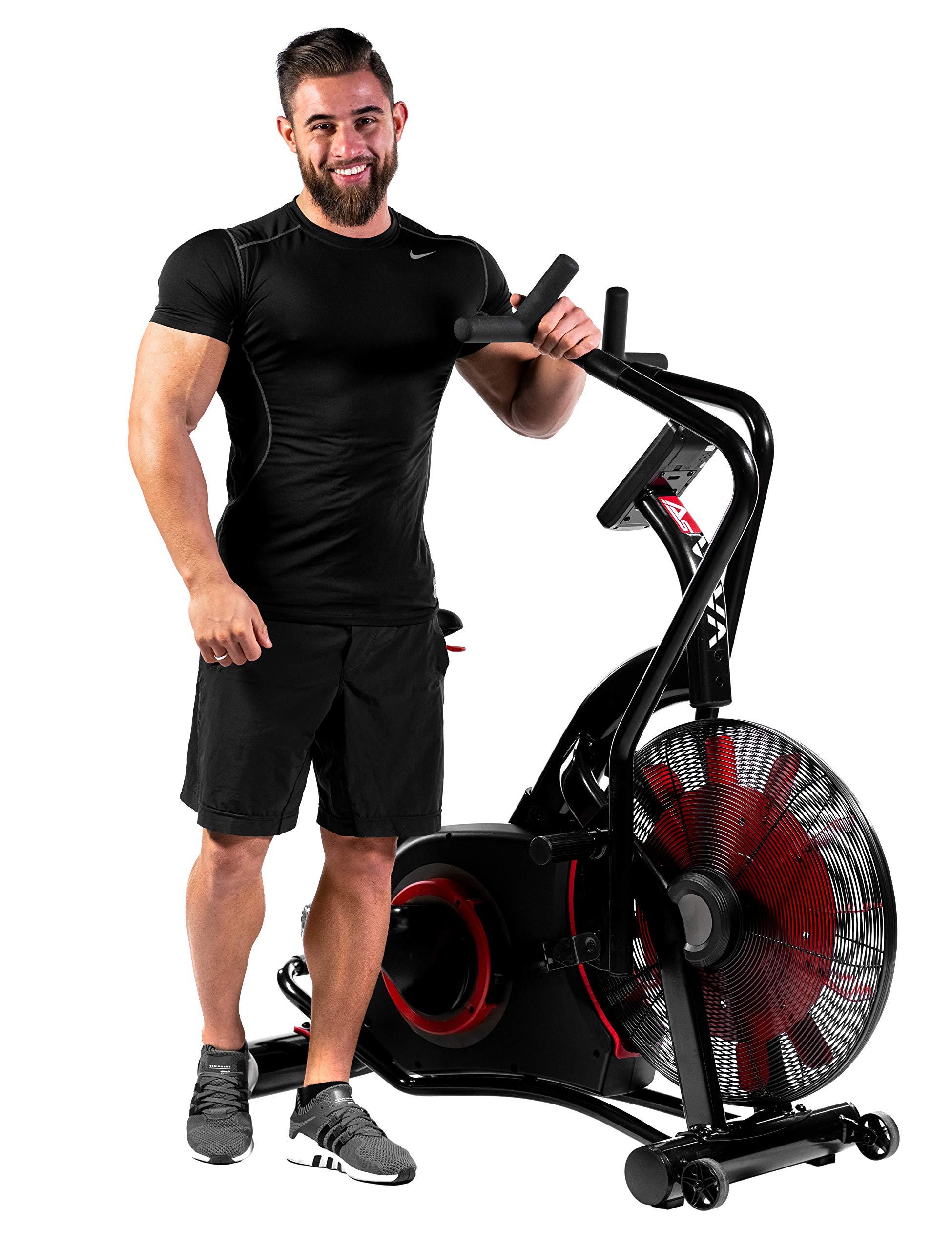 AsVIVA Bicicleta estática Ergometer Air-Bike Pro, entrenador de ...