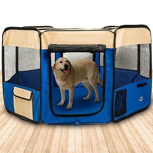 Recinzioni Per Cani Da Giardino.Box Per Cani Da Esterno Amazon It