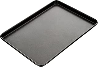 MASTERPRO MPHB23 Ns Bake Roasting Pan, Carbon Steel/Black