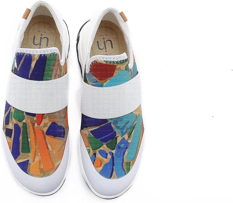 Damen Farbe Farbe Glaze Atmungsaktiv Lycra Walking Schuhe Mehrfarbig  billiger Laden