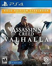 Assassin's Creed Valhalla PlayStation 4 Gold Steelbook...