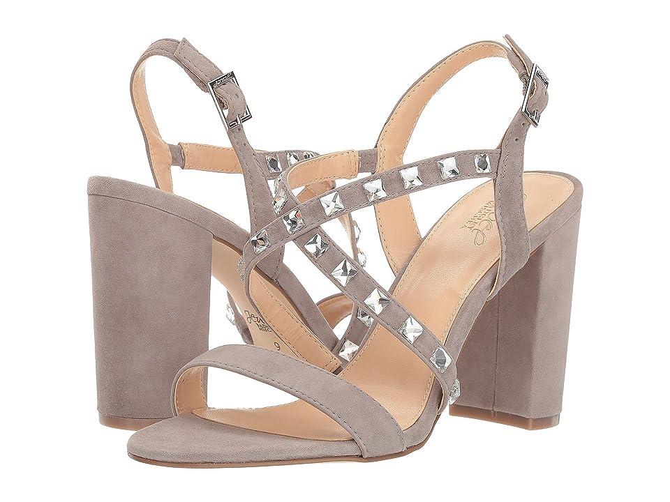 Jewel Badgley Mischka Miriam (Grey) Women's Shoes