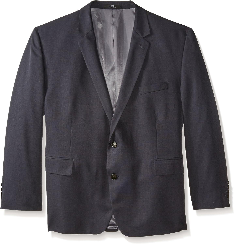 Haggar Men's Big-Tall Performance Tic-Weave Classic-Fit Suit Coat