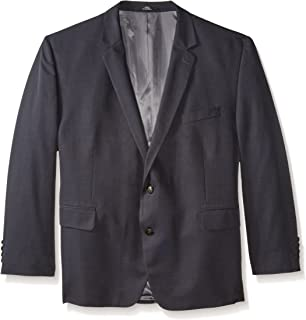 Men's Big-Tall Performance Tic-Weave Classic-Fit Suit Coat