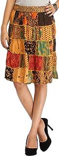 Exotic India Rayon Full Skirt