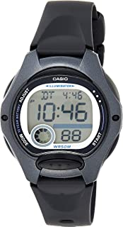 Casio LW-200-1B Black Classic Women's or Children's 50m Casual Digital Sports Watch