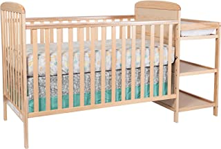 Suite Bebe Ramsey 3 in 1 Convertible Crib & Changer, Natural