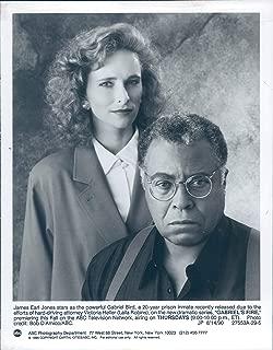 Vintage Photos 1990 Press Photo Actor James Earl Jones As Gabrielle Bird Laila Robins 7X9