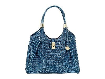 Brahmin Melbourne Celia Satchel (Bluebonnet) Handbags
