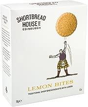 Shortbread House of Edinburgh Scottish Shortbread Bites, Lemon, 5.3-Ounce