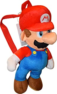 UPD Mario 16†Plush Backpack, Medium, Multicolor
