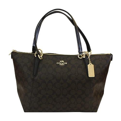 Coach AVA Leather Shopper Tote Bag Handbag b944a697434c0