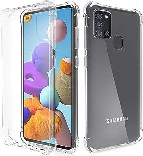 Migeec Funda para Samsung Galaxy A21S Suave TPU Gel Carcasa Anti-Choques Anti-Arañazos Protección a Bordes y Cámara Premiu...