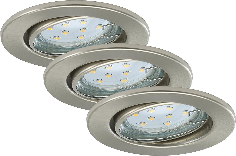 Briloner Leuchten LED Einbaustrahler, Einbauleuchte, Deckenspot ...