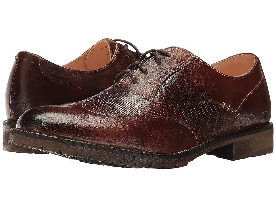 Bed Stu Gibson (Teak Rustic Leather) Men