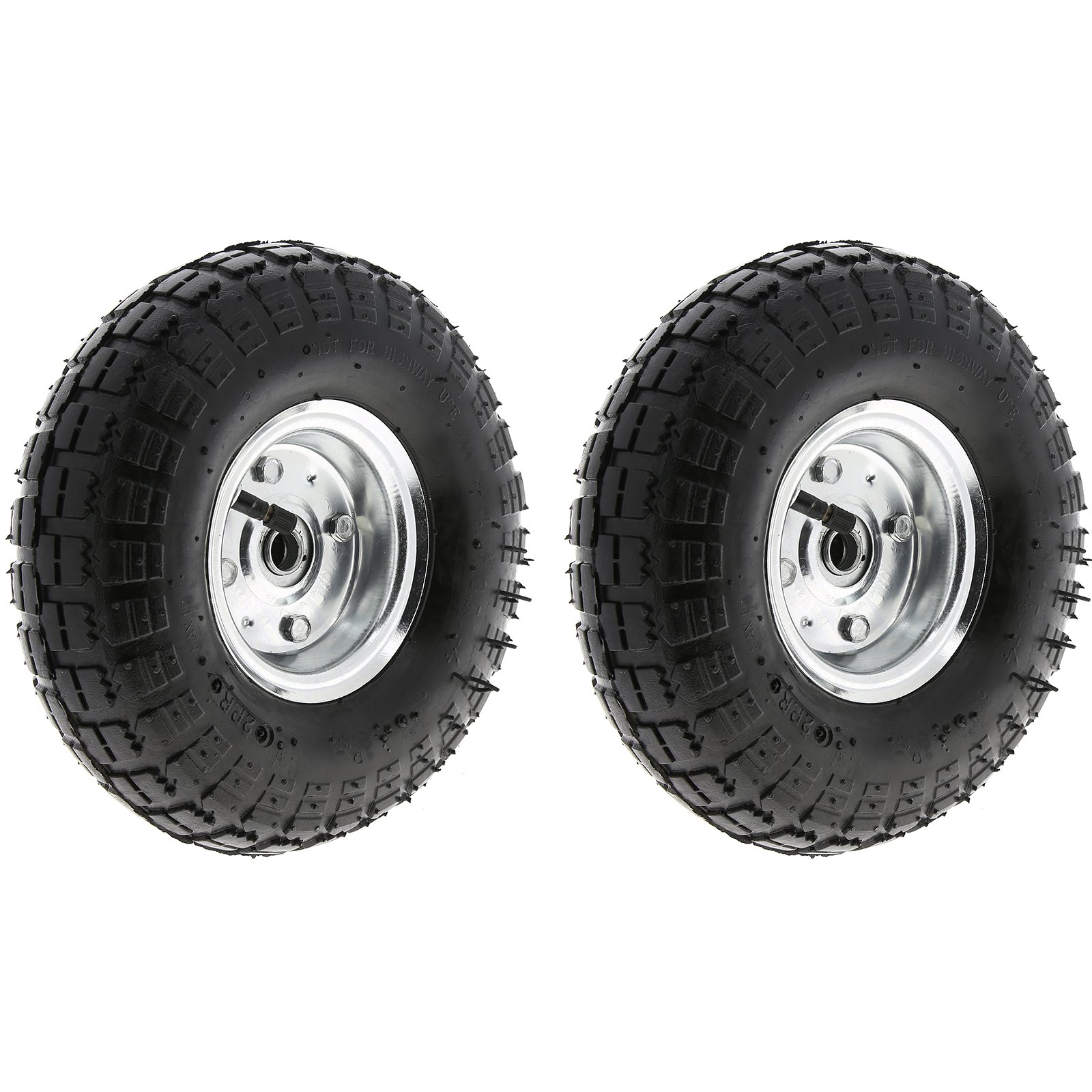 "2X10/"" PNEUMATIC SACK TRUCK TROLLEY WHEEL BARROW TYRE TYRES"