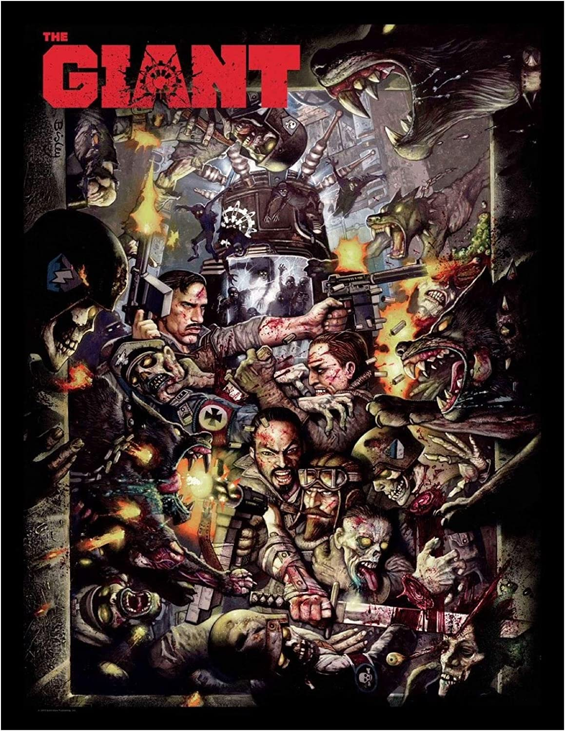 """Call Of Duty Black Ops III ZOMBIES CHRONICLES Print Poster 18x12 36x24 40x27/"""""""