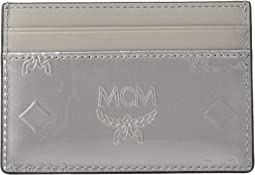 Monogrammed Patent Card Case Mini