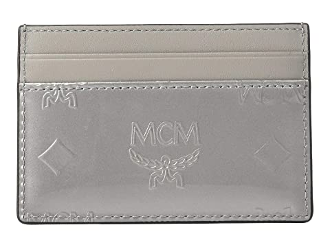 MCM Monogrammed Patent Card Case Mini