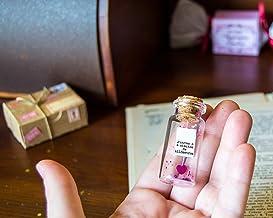 Las hermanas siempre están unidas por el corazón. Mensaje en una botella. Miniaturas. Regalo personalizado. Divertida post...