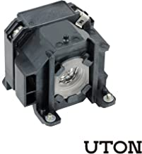 Uton for ELPLP38 Replacement Projector Lamp for EPSON EMP-1700 EMP-1705 EMP-1707 EMP-1710 EMP-1715 EMP-1717 EX100 PowerLite 1700c PowerLite 1705c PowerLite 1710c PowerLite 1715c Projectors