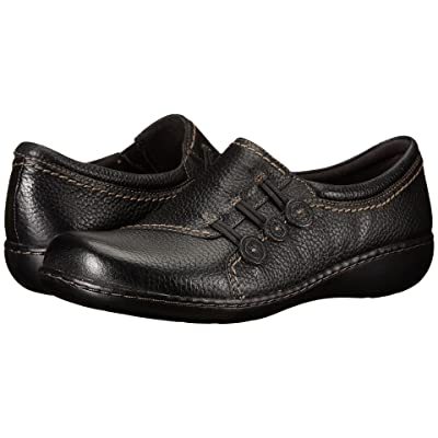 Clarks Ashland Effie (Black Leather) Women