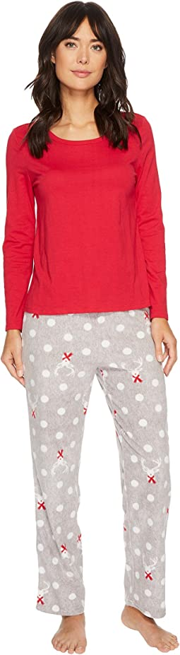 Jockey - Microfleece Pajama Set