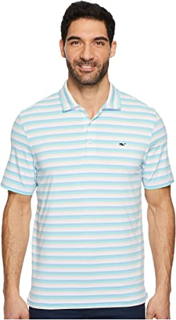 Vineyard Vines Golf - Performance Gill Stripe Polo