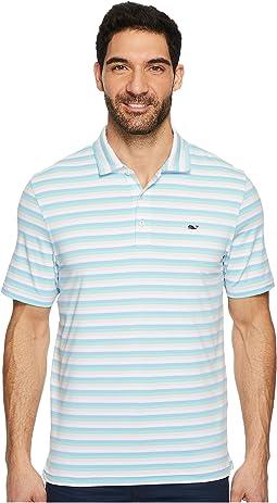 Vineyard Vines Golf - Performance Gill Stripe Polo